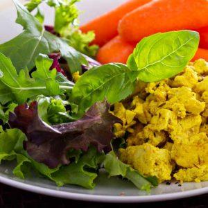 Recette tofu légumes sautés beurre de cacahuète