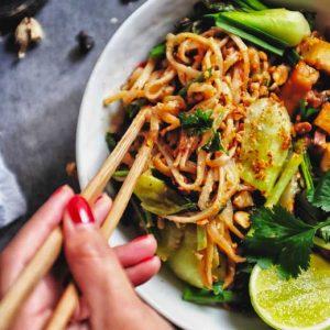 Pad thaï vegan inspiré de l'ayurvéda