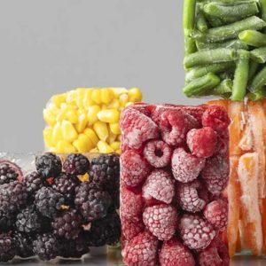 Fruits et légumes: surgelés ou en conserve?
